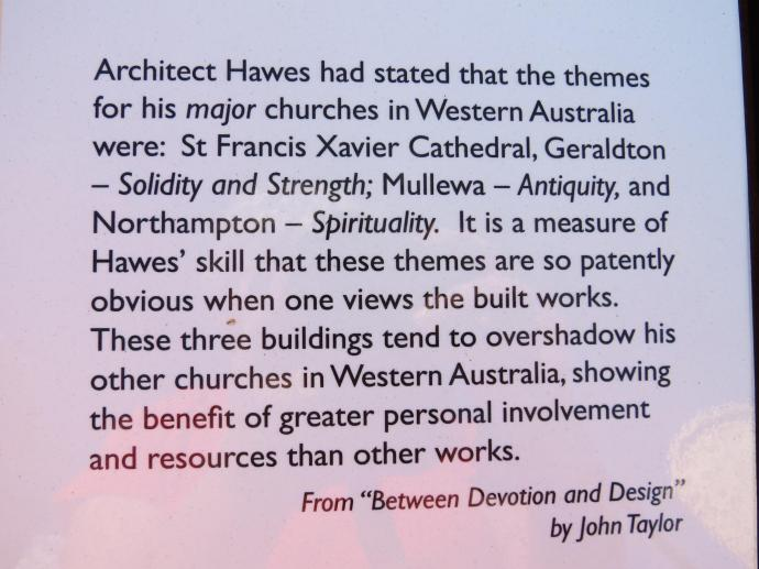 I still have to see the church at Mullewa, but that will be another days outing.