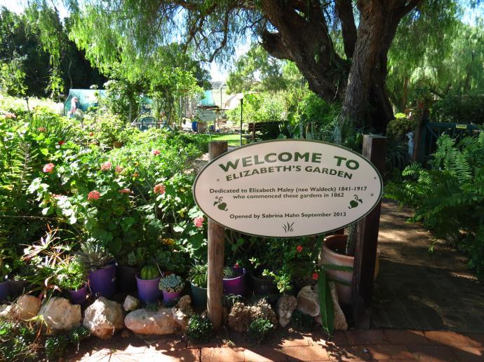 Welcome to Elizabeth's garden.