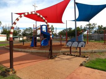 Children's playground, deserted today