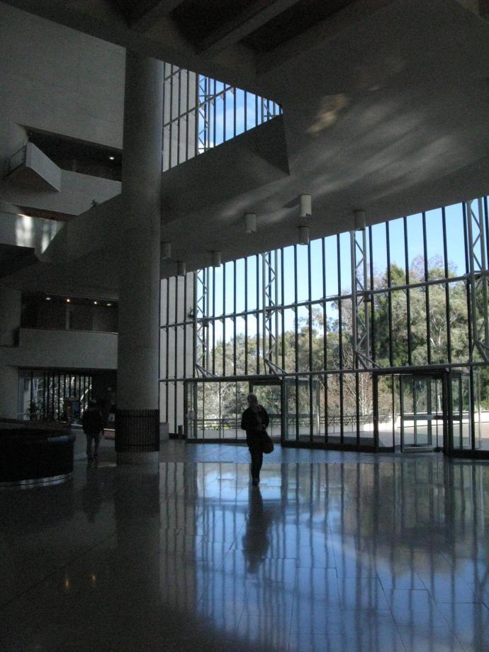 Entering the foyer