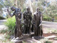 The Burghers by Auguste Rodin