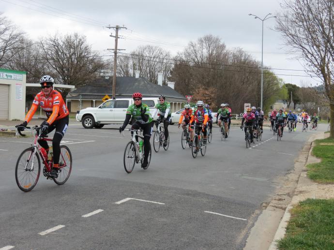 Intrepid cyclists