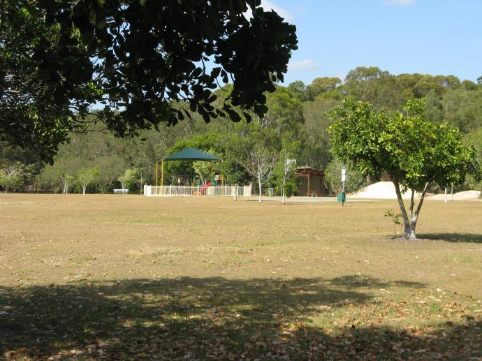 The dog walking park