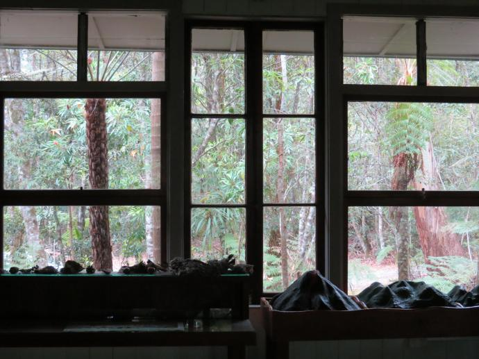 From inside the school room