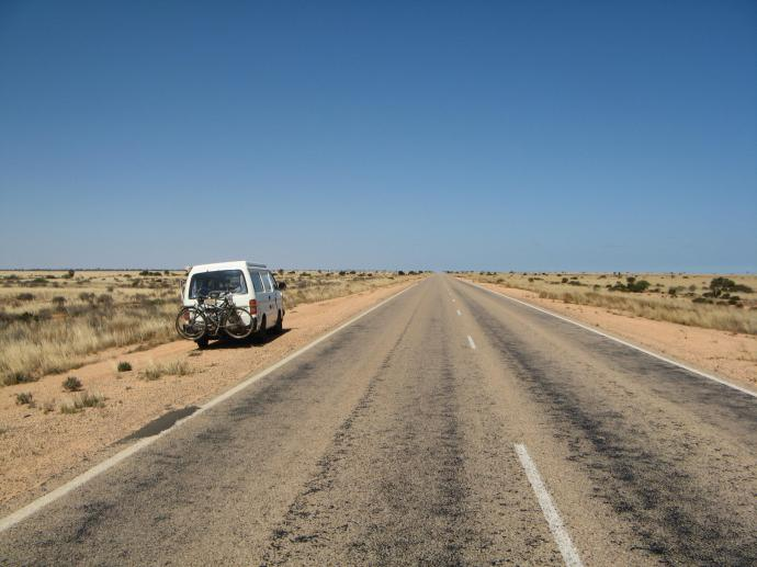 Crossing the Nullabor Plains