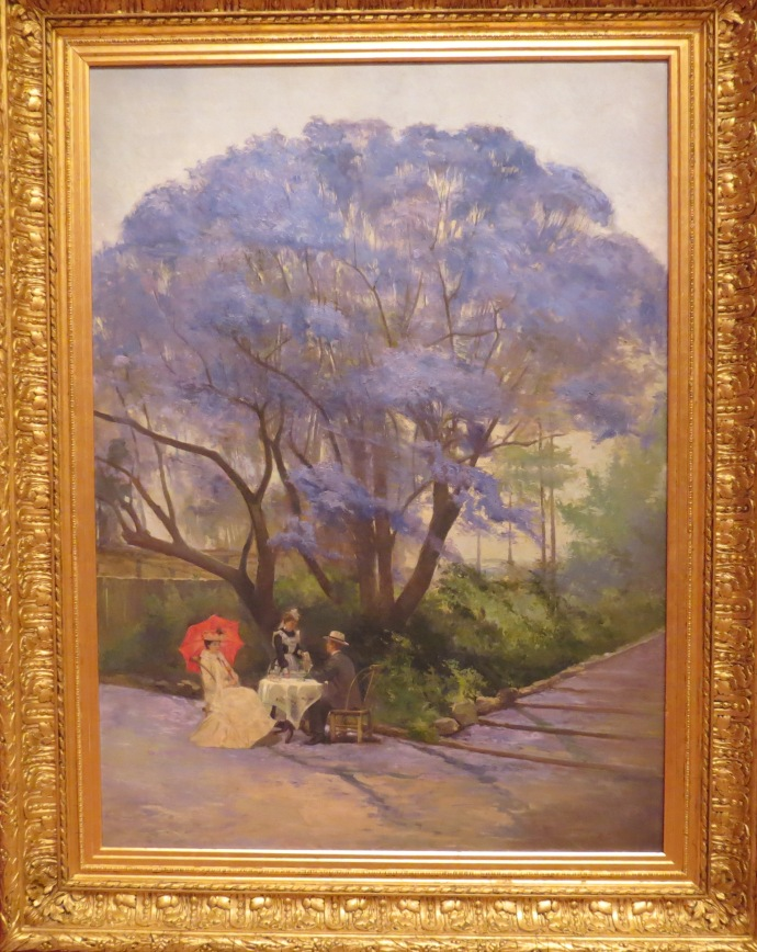 Under the Jacaranda tree by R. Godfrey Rivers